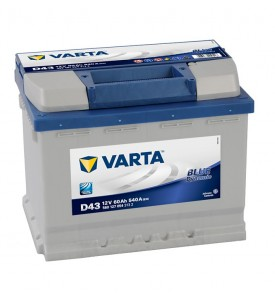 Batteria 60AH (D43) VARTA BLUE DYNAMIC 560 127 054 - 540A