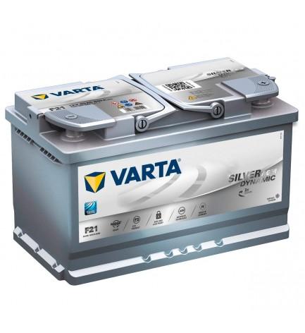 VARTA SILVER DYNAMIC 580 901 080 - AGM 80H 800A START–STOP Batteria auto