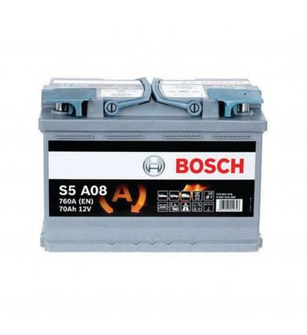 Batteria Auto Bosch 70AH 0092S5A080 - 760A