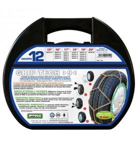 Catene da neve omologate - Cora Grip Tech 9mm - Gruppo 12 - 15'' - 235/70 R15
