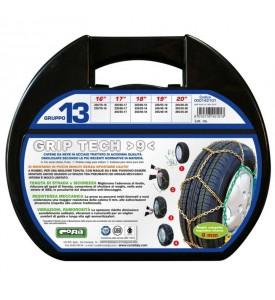 Catene da neve omologate - Cora Grip Tech 9mm - Gruppo 13 - 20'' - 245/40 R20, 265/35 R20, 255/35 R20
