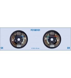 Kit freno posteriore a tamburo per FIAT Punto, Tipo, Tempra - LANCIA Y