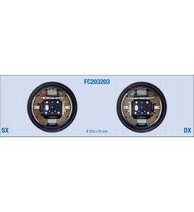 Kit freno posteriore a tamburo per FORD Fiesta, Focus, Fusion - MAZDA 2