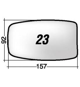 Specchio SX di ricambio retrovisore ALFA ROMEO 33/75